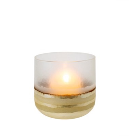 "Everyday 5"" x 5"" Echo Gold Votive"