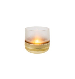 "Everyday 3.5"" x 3.5"" Echo Gold Votive"