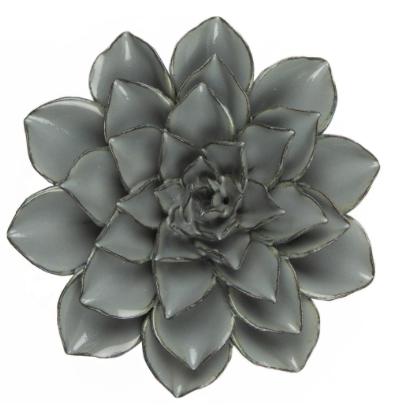Everyday Large Dusk Blue Ceramic Flower
