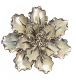 Everyday Medium Ecru Ceramic Flower
