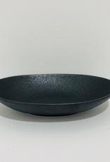 """Everyday 7.8"""" Matte Black Oval Elan Bowl"""