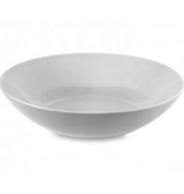"Everyday 8 3/4"" Round White Pasta Bowl"