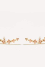 Everyday Champagne Crawler Earrings