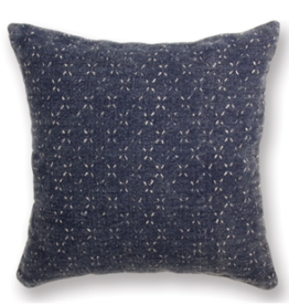 "Everyday 18"" x 18"" Surrey Navy Square Pillow"