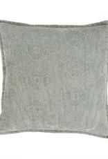 """Everyday 20"""" x 20"""" Mint Jacquard Velvet Pillow"""