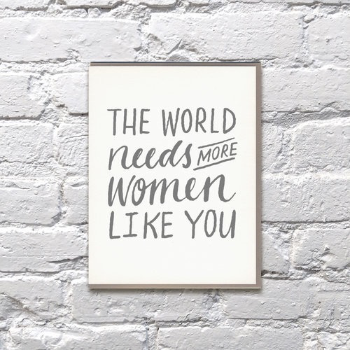 Everyday World Needs More Mother's Day Card