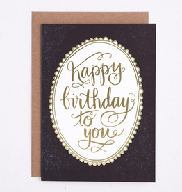 Everyday Classic Happy Birthday Card