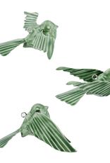 Everyday Enamel Green Tilda Birds - 3 Styles