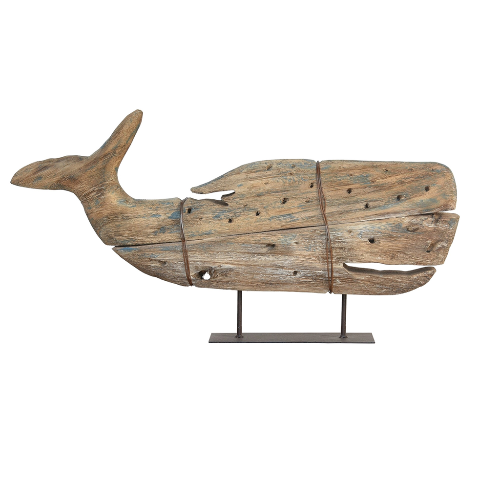 Everyday Sperm Whale, On Stand, kelso Wood