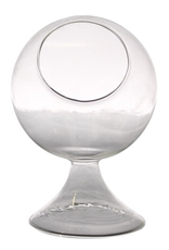 "Everyday 4.5"" x 6.5"" Round Glass Terrarium"