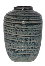 Everyday Indigo Toku Ceramic Vase