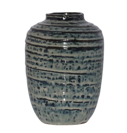 Everyday Vase, Ceramic, Indigo, Toku