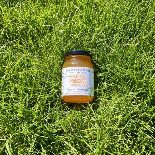 Everyday Peach and Prosecco Jam