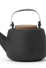 Everyday Nicola Grey Porcelain Teapot