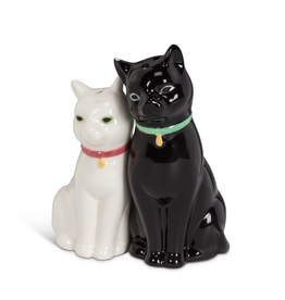Everyday Cuddling Cat Salt and Pepper