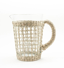 Everyday Seagrass Cage Pitcher