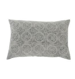 "Everyday 16"" x 24"" Grey Lisboa Printed Cushion"