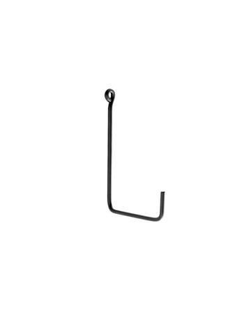 Everyday Single L Shape Medium Iron Black Hook