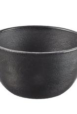 """Everyday 6"""" Mesabi Blackened Cast Iron Bowl"""
