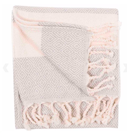 Everyday Diamond Mist Hand Turkish Towel