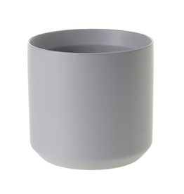 "Everyday 7"" x 6.75"" Medium Grey Kendall Pot"