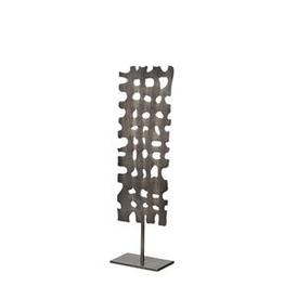 "Everyday 21.1"" Gun Metal Grey Shaw II Decorative Object"