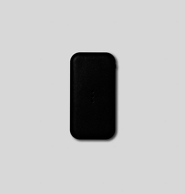"""Everyday 5.5"""" x 2.9"""" Black Portable Wireless Charger"""