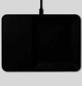 "Everyday 11"" x 8"" Black Wireless Charger"