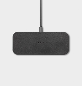 """Everyday 7.8"""" x 3.1"""" Ash Wireless Charger"""