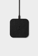 "Everyday 3.9"" x 3.9"" Black Wireless Charger"