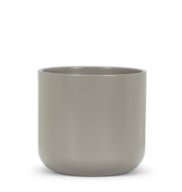 "Everyday 5"" Dark Grey Ceramic Planter"