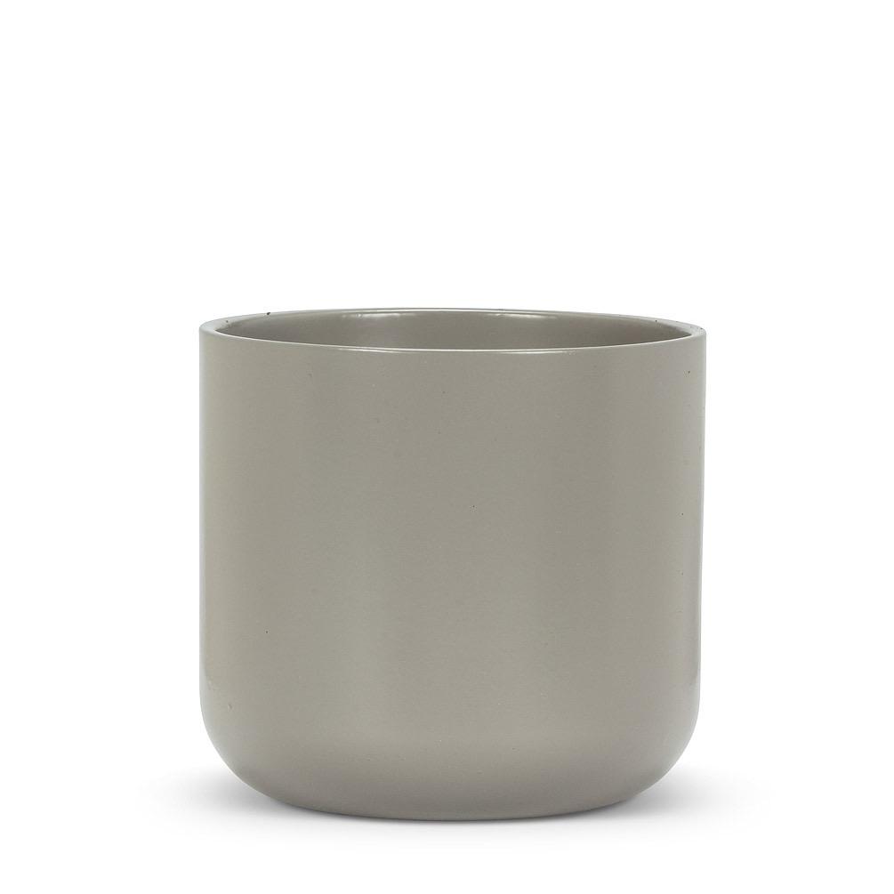 "Everyday 5"" Dark Grey Ceramic Planter"