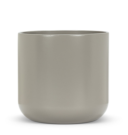 "Everyday 7"" Dark Grey Ceramic Planter"