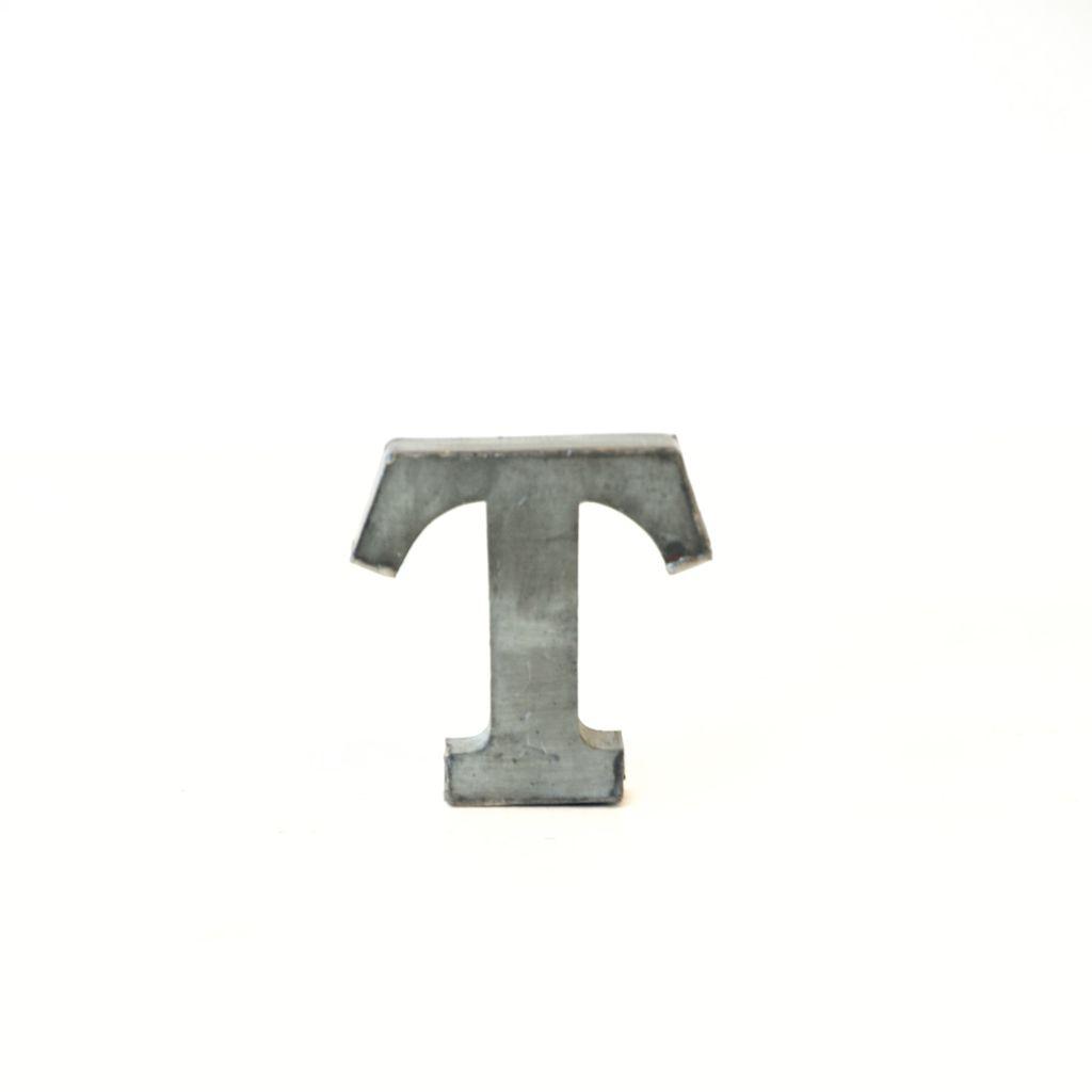 Everyday Metal Alphabet Letter