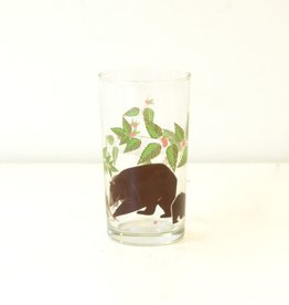 Everyday Great Outdoors Bear Glass