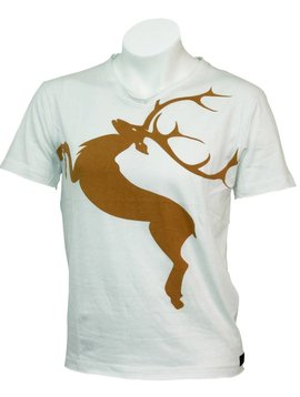 T-Shirt Deer  Tobacco L