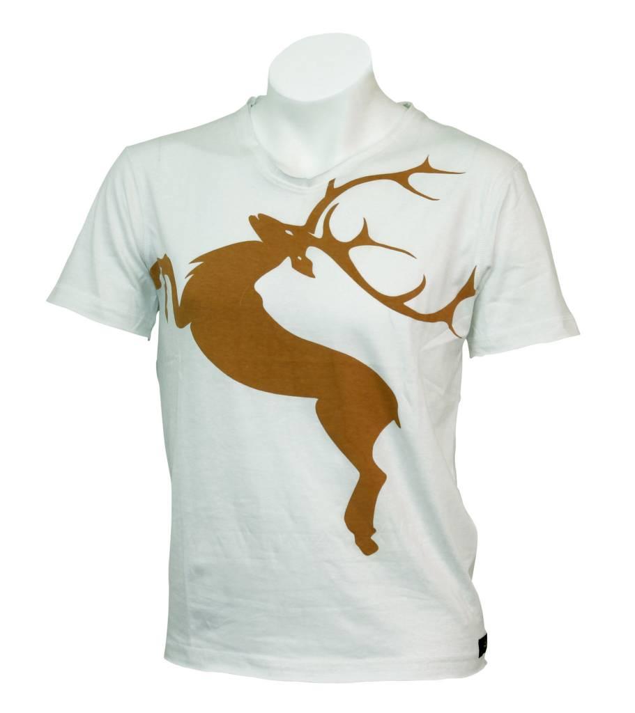 T-Shirt Deer  Tobacco L