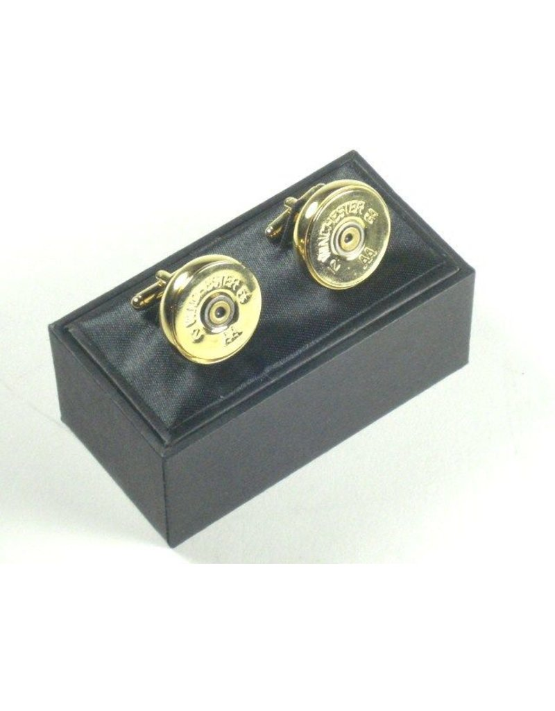 Cuff Links - 12 Gauge - Gold