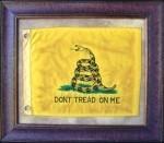 Texas Art - Don't Tread on Me Flag Medium