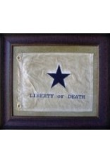 Texas Art - Liberty or Death Flag Medium