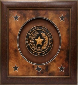 Texas Art - Texas Seal Large 36x36