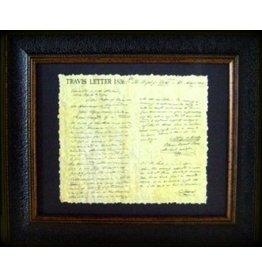 Texas Art - Travis Letter 16x20