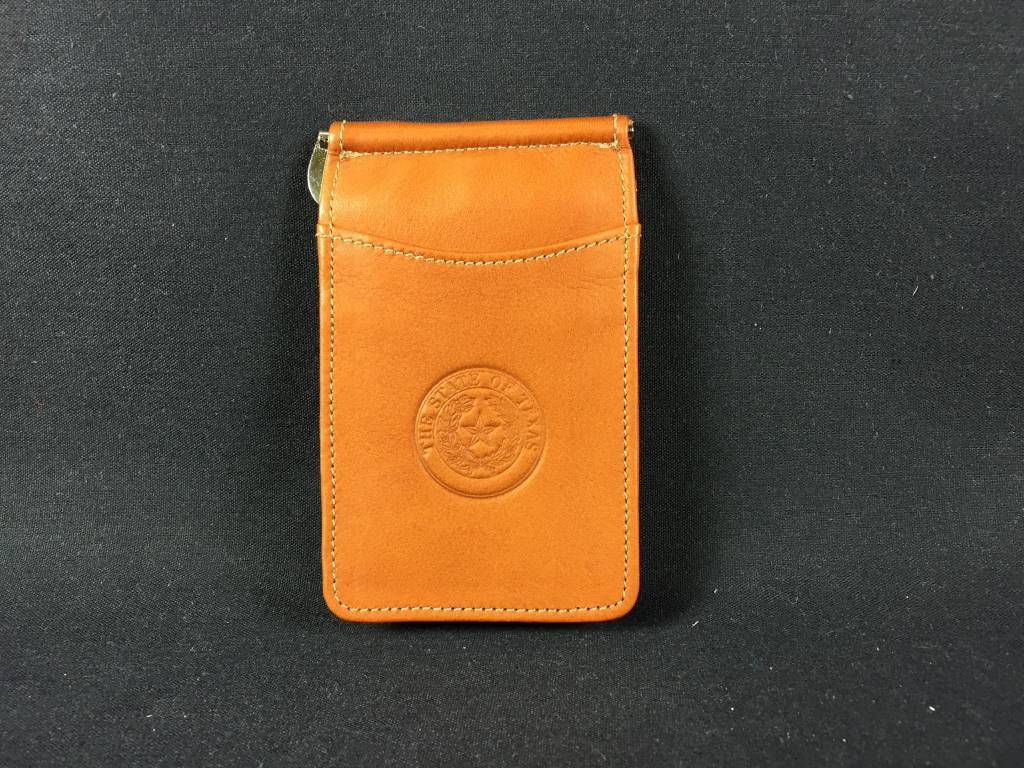 Bi-fold Money clip w/ ID - SDL - Texas State Seal