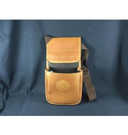 Black Hills Shell Bag - Tan - Texas State Seal