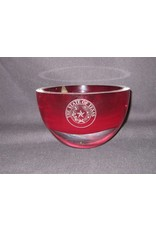 "Bowl / Penelope / Red / 6"" / Texas State Seal"