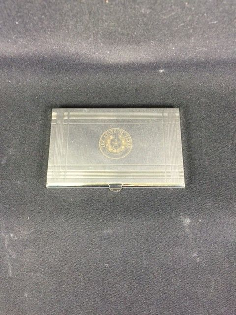 Business Card Case - Texas State Seal