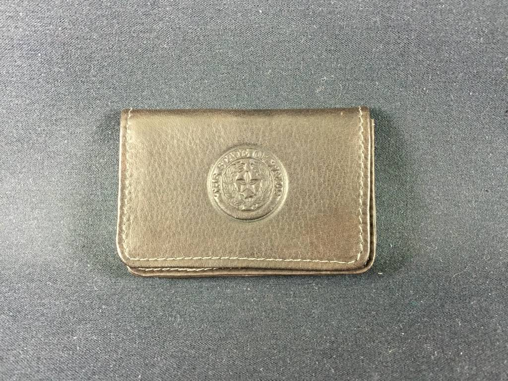 Business Card - ID case - CHC - Texas State Seal