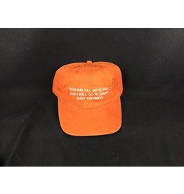 Cap - Davy - Orange