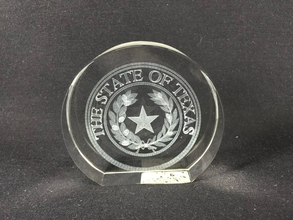Crystal - Texas State Seal