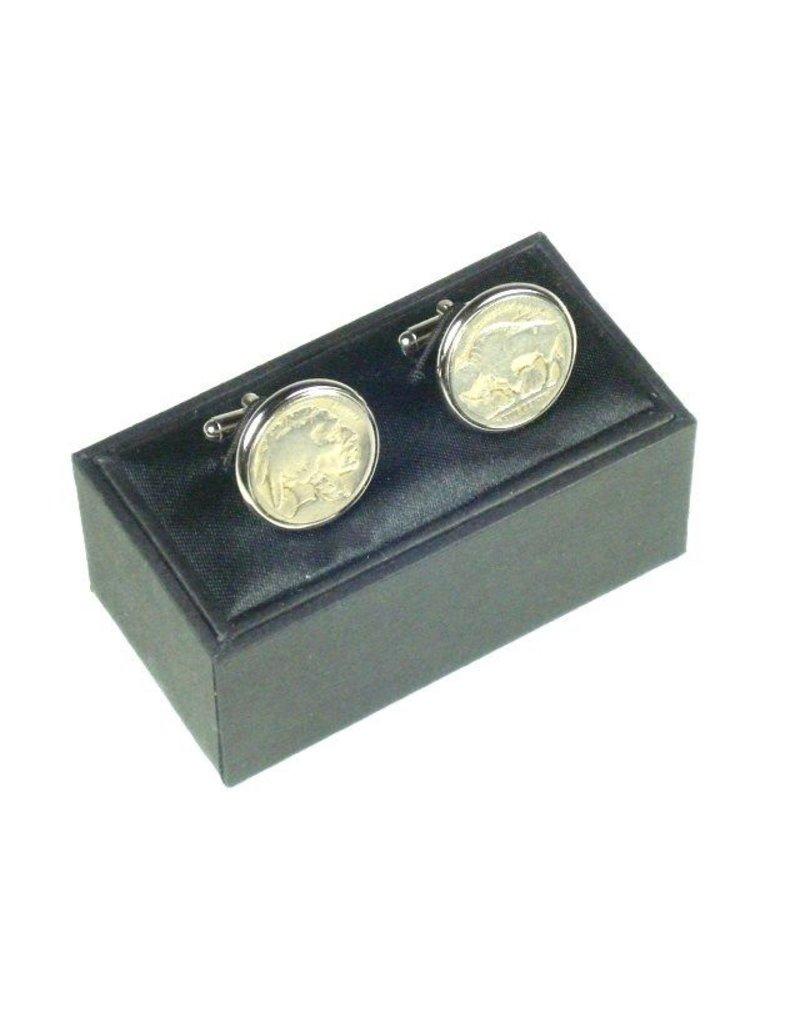 Cuff Links - Buffalo Nickel